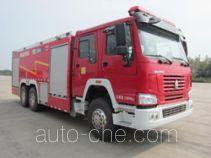 抚起牌FQZ5280GXFPM120/A型泡沫消防车