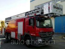 抚起牌FQZ5300JXFYT32型云梯消防车