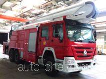 Fuqi (Fushun) FQZ5320JXFJP26/A high lift pump fire engine