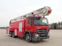 Fuqi (Fushun) FQZ5320JXFJP32 high lift pump fire engine