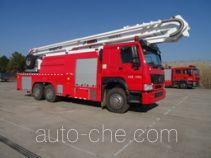 Fuqi (Fushun) FQZ5330JXFJP32/A high lift pump fire engine