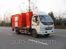 英达牌FTT5080TXBPM22型沥青路面热再生修补车
