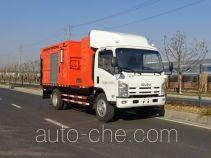 英达牌FTT5100TXBPM22型沥青路面热再生修补车