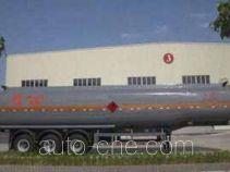 大力士牌FTW9400GHY型化工液体运输半挂车