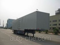 Dalishi box body van trailer