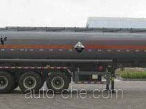 大力士牌FTW9402GFW型腐蚀性物品罐式运输半挂车