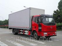 FAW Fenghuang FXC5160XBWP62L2E4 insulated box van truck