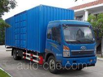 FAW Fenghuang FXC5160XXYL4E4 box van truck
