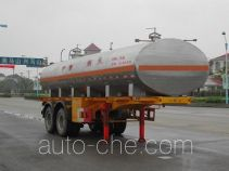 FAW Fenghuang FXC9340GHY chemical liquid tank trailer
