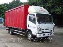 Shangyuan GDY5101XXYQL side curtain van truck