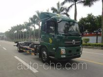 Detachable body postal truck
