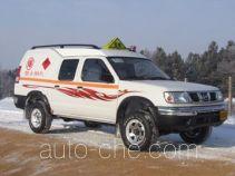 天际牌GF5020XQY型爆破器材运输车