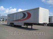 天际牌GF9190DYC型多功能移动餐饮半挂车