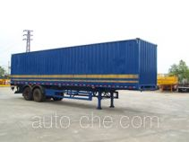 Guangzheng GJC9220XXY box body van trailer