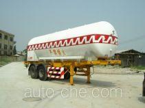 Liquid oxygen tank trailer