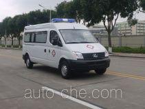 广通客车牌GPY5041XJHSHTT0型救护车