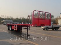 Wanhe Detong GTW9401TPB flatbed trailer