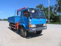 Jianghuan GXQ5110ZJSQ dump truck mounted loader crane