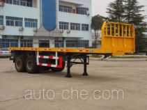 Zhongtong HBG9193P flatbed trailer