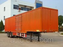 Zhongtong HBG9270XXY box body van trailer