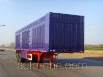 Chuanteng HBS9340XXY box body van trailer