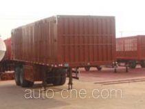 Chuanteng HBS9350XXY box body van trailer