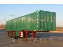 Chuanteng box body van trailer