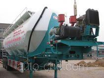 川腾牌HBS9400GFL型粉粒物料运输半挂车