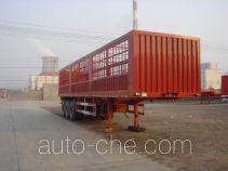 川腾牌HBS9405CLX型仓栅式运输半挂车
