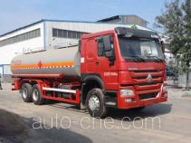 Changhua oil tank truck