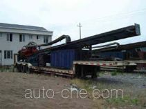 Horizontal directional drilling rig (HDD rig) trailer