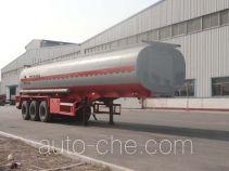 Changhua HCH9400GFW30 corrosive materials transport tank trailer