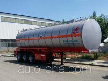 Changhua HCH9400GFWJS corrosive materials transport tank trailer