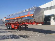 Changhua HCH9400GFWYSG corrosive materials transport tank trailer