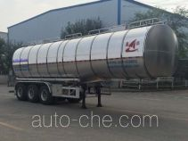 Changhua HCH9400GRH40 lubricating oil tank trailer