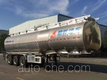 Lubricating oil tank trailer