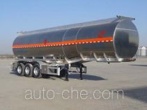 Changhua HCH9400GRYJCA flammable liquid aluminum tank trailer