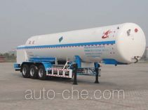 Changhua HCH9401GDYB cryogenic liquid tank semi-trailer