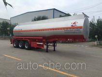 Changhua HCH9401GFWAS corrosive materials transport tank trailer