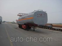 Changhua HCH9401GHYL chemical liquid tank trailer