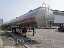 Changhua HCH9401GRYLHJ2 flammable liquid aluminum tank trailer