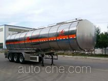 Changhua HCH9401GRYMR flammable liquid aluminum tank trailer