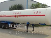 Changhua HCH9402GDYF cryogenic liquid tank semi-trailer