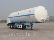 Changhua HCH9404GDYA cryogenic liquid tank semi-trailer