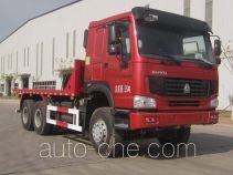 Sunhunk HCTM HCL3257ZZN38P5L4 flatbed dump truck