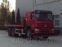Sunhunk HCTM HCL3257ZZN41P5L5 flatbed dump truck