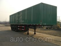 Hongchang Weilong HCL9340XXY box body van trailer