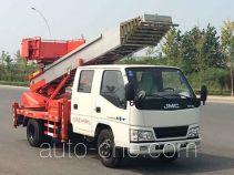 Huatong HCQ5040TBAJX ladder truck