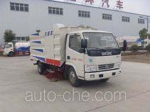 Huatong HCQ5040TSLDFA street sweeper truck