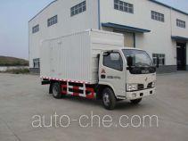 Huatong HCQ5040XXYDFA box van truck